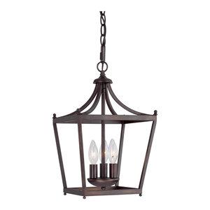 Capital Lighting Stanton 3-LT Foyer Light 4036BB - Burnished Bronze