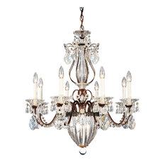 Bagatelle 11-Light Chandelier in Heirloom Bronze With Clear Heritage Crystal