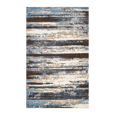 Safavieh Retro Woven Rug, Cream/Blue, 10'x14'
