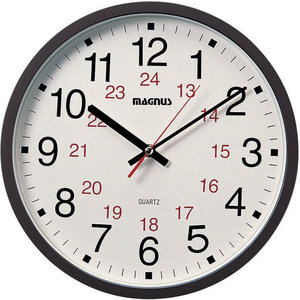 14 Quot Ultratomic Analog Stainless Steel Wall Clock