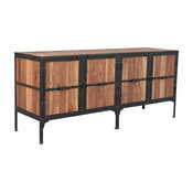 Hyderabad Reclaimed Wood and Metal Buffet
