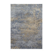 "Loloi Patina PJ-05 Transitional Area Rug, Ocean/Gold, 9' 6"" x 13'"