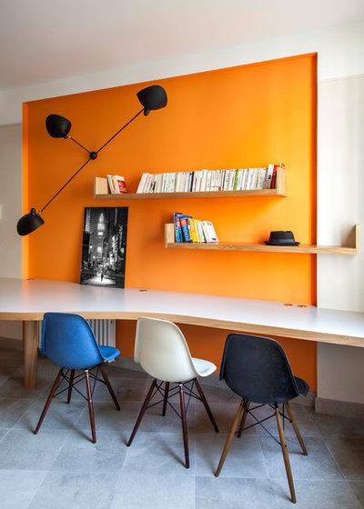 Contemporain Bureau à domicile by Fabrice Ausset - Architecte DPLG