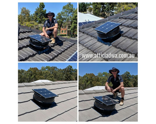 Perth Solar Roof Vents by Attic Lad WA - Home Improvement