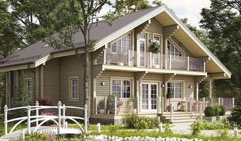 Деревянный дом из клееного бруса 300 кв.м. (СП-300)