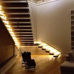 Consiglio per parete scala - Case illuminazione scala interna ...