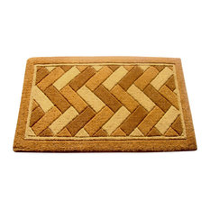 "Imperial Geometric Doormat, 36""x72"""