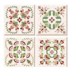 Chelsea Peel and Stick Tiles, 4-Piece Set