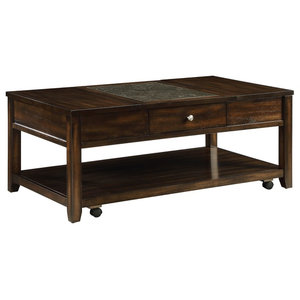 Rubberwood Coffee Table.Rubber Wood Coffee Table Brown Traditional Coffee Tables By