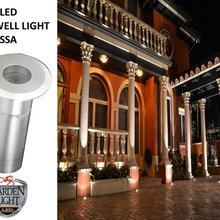 LED Mini Well Light Fixture Application