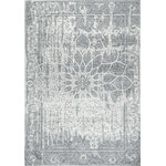 """nuLOOM - Distressed Vintage, Gray, 5'x7'5"""" - Made from the finest materials in the world and with the uttermost care, our rugs are a great addition to your home."""