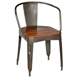 Superb Industrial Dining Chairs Iron Dining Chair Stainless Steel