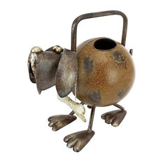 Back To The Farm Metal Dog Watering Can