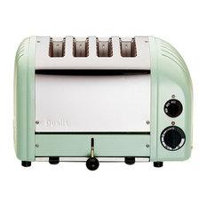 Dualit Classic Vario AWS 4 Slot Toaster, Mint Green