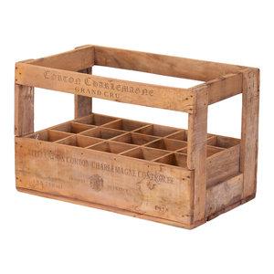 15-Bottle Wine Crate