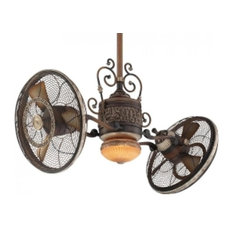 "Minka Aire Traditional Gyro??? 42"" Ceiling Fan F502-BCW"