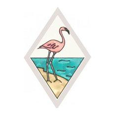 Silver Creek Wildlife, Flamingo Panel