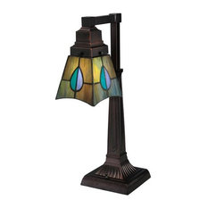 "19 5""H Mackintosh Leaf Desk Lamp"