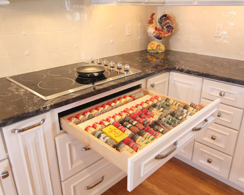 Spice Drawer Ideas, Pictures, Remodel and Decor