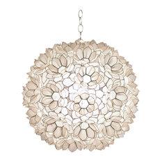 Capiz shell pendant lighting houzz worlds away jupiter capiz shell pendant 20 pendant lighting aloadofball Images