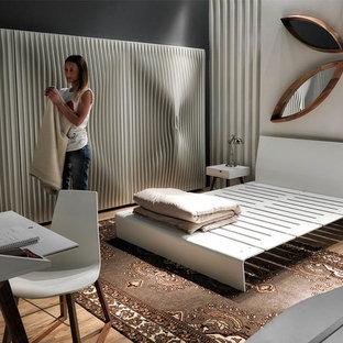 Mid-sized trendy bedroom photo in Miami