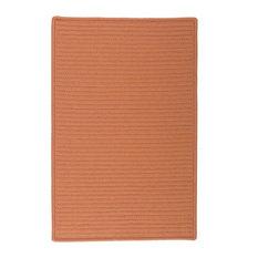8'x11' (Large 8x11) Rug, Rust (Orange) Indoor/Outdoor Carpet