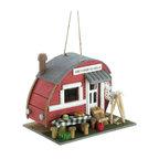 Vintage Trailer Birdhouse