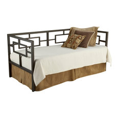 Hillsdale Chloe Daybed with Suspension Deck and Trundle, Bronze