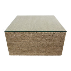Square Seagrass Rope Coffee Table