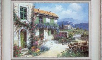 Tableaux paysages de Provence