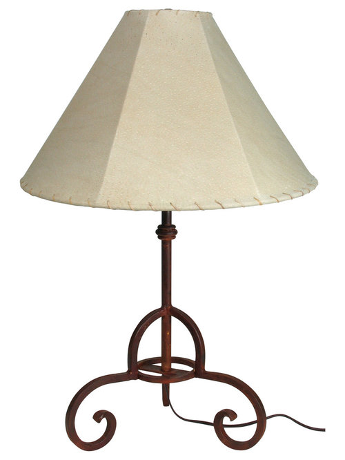 Rustic tin and iron table lamps floor lamps rustic iron laredo table lamp table lamps aloadofball Images