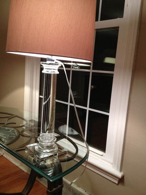 tips for disguising chord rh houzz com Wiring a Lamp with Bulbs 3 Wiring a Lamp with Bulbs 3