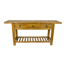 Chinese Country Charm Reclaimed Wood Console Table