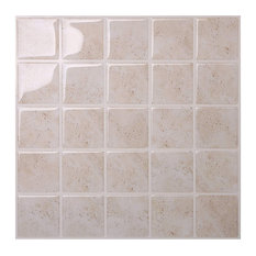 Marmo Travertine Peel and Stick Tile, 10 Pack