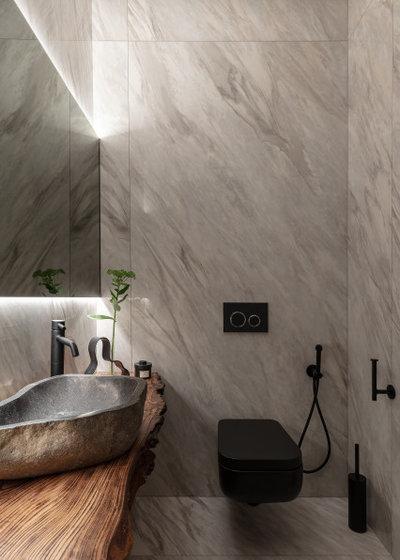 Современный Туалет by goro_da