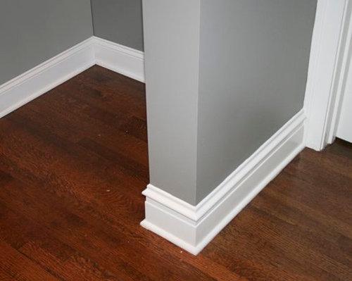 Caulk Between Trim And Wood Floor
