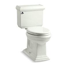 Kohler Memoirs 2-Piece Elongated 1.6 GPF Toilet w/ Left-Hand Lever, Dune