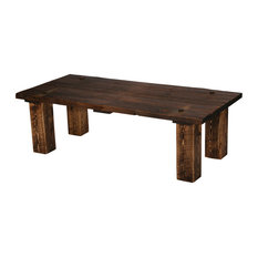 Rustic Heritage Barn Door Coffee Table   Coffee Tables