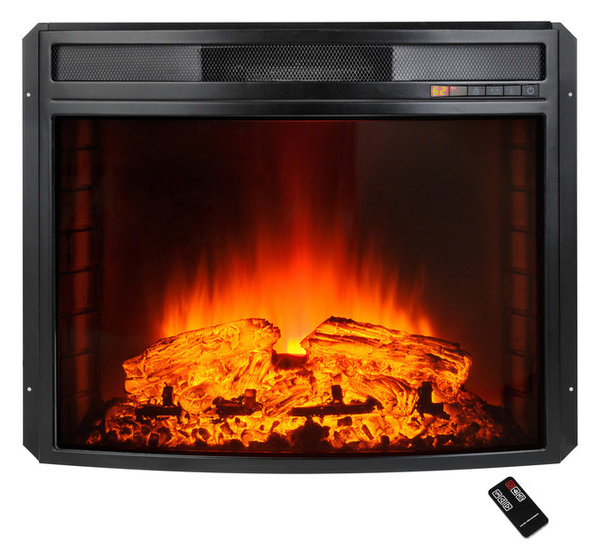 AKDY Electric Fireplace Heater Freestanding Insert With Remote ...