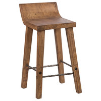 Reagan Low Back Counter-stool by Kosas Home
