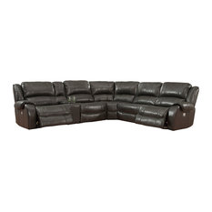 Parker Living Ulysses 6 Piece Power Reclining Sectional With Power Headrest
