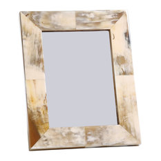 """Kaizan"" 4"" x 7"" Colourful Horn Picture Frame"
