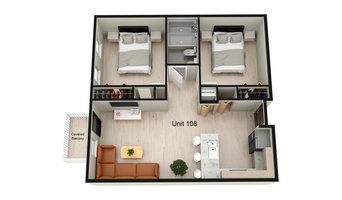 4301 Fountain Square Apartment Homes