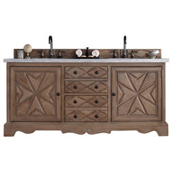 Marvelous Mediterranean Bathroom Vanities And Sink Consoles James Martin Normandy Weathered Oak Double Vanity Cabinet