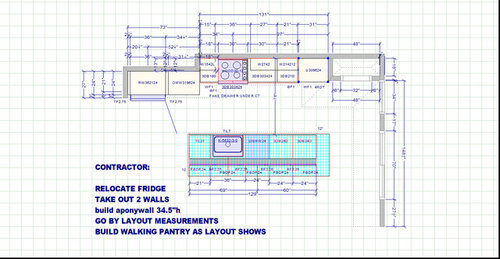 Please Help With Built In Pantry Dimensions