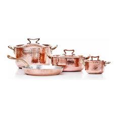 Copper Set 7 pcs, Tin Lining