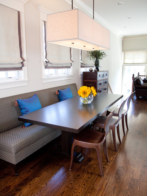 Custom dining banquette ideas, pictures, remodel and decor