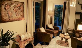 Wohnzimmer rustikal und gemütlich