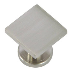 Stone Mill Hardware   Stone Mill Hardware Satin Nickel SoHo Cabinet Knob    Cabinet And Drawer