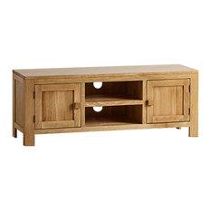Oakdale Natural Solid Oak Cabinet Large TV Unit